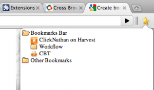 Google Chrome Bookmarks Tree Extension