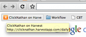 Google Toolbar as seen in Chrome's New Tab