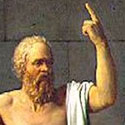 Socrates provideth the finger