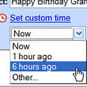 Google Custom Time, for sure!