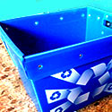 Blue Recycling Tub