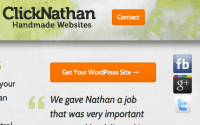 screenshot of one incarnation of sharing buttons on this site