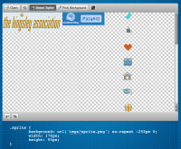 screenshot of the Sprite Cow interface