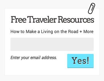 screenshot of a newsletter signup form on a website, with the paper clip in this article attached