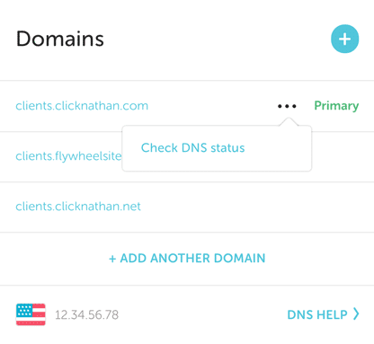 domain controls on flywheel
